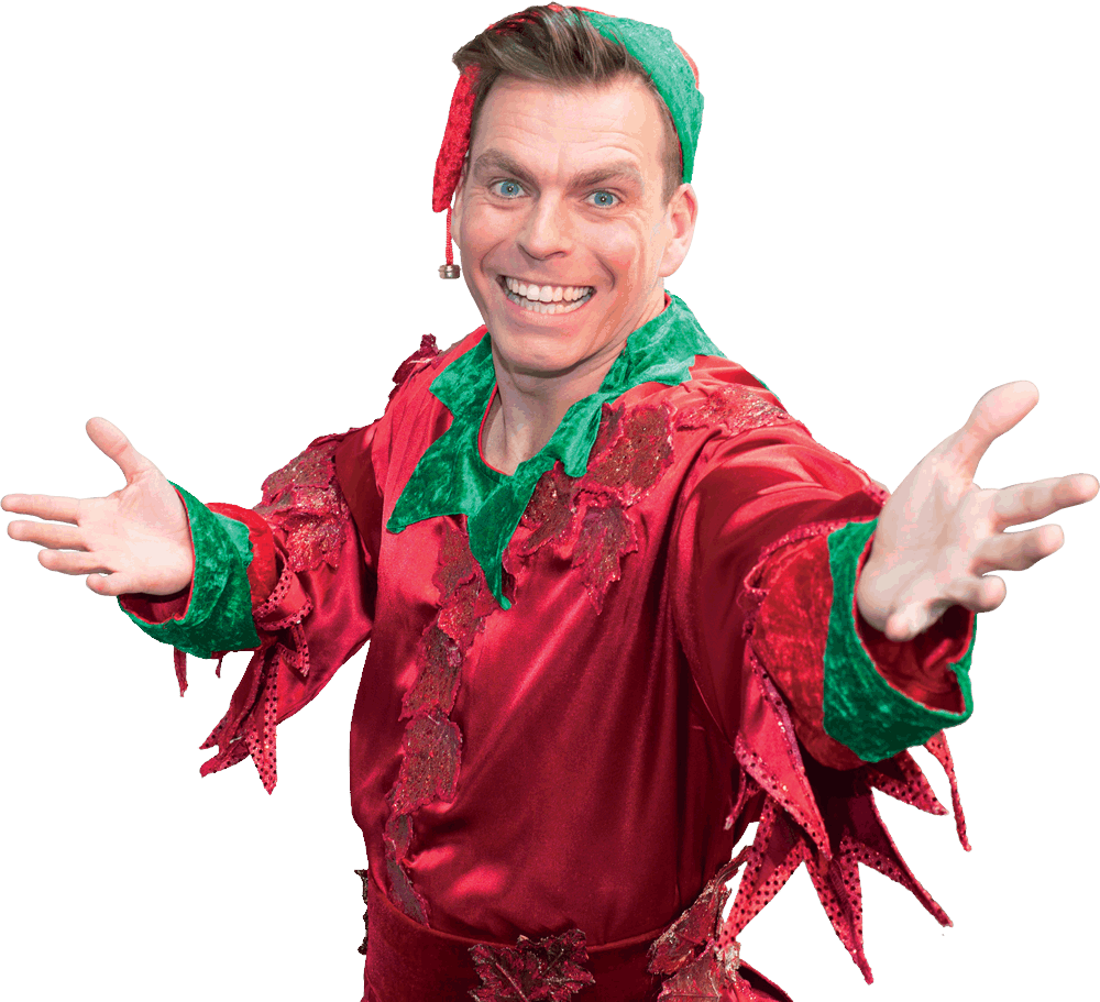 Johnny Mac as Elfie the Selfie